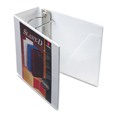Cardinal ClearVue Premium Slant-D Vinyl Presentation Binder, 5
