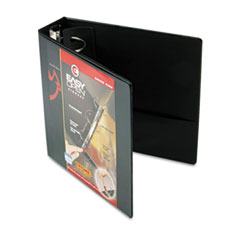 Cardinal EasyOpen ClearVue Locking Round Ring Binder, 3