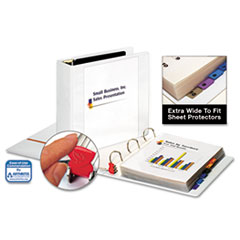 Cardinal Clearvue EasyOpen Extra-Wide Slant-D Binder, 3