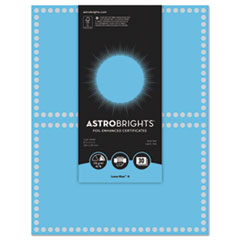 WAU 91109 Astrobrights Foil Enhanced Certificates WAU91109