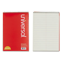 Universal® BOOK STENO PITMAN 60SH GN STENO BOOKS, PITMAN RULE, 6 X 9, GREEN TINT, 60 SHEETS