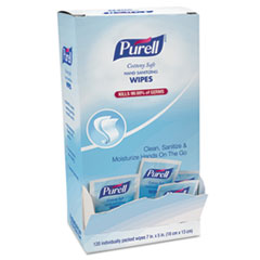 GOJ 902712CT PURELL Cottony Soft Individually Wrapped Sanitizing Hand Wipes GOJ902712CT