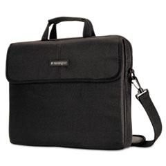 "Kensington® CASE SP10 15.4 SLEEVE 15.6"" SIMPLY PORTABLE PADDED LAPTOP SLEEVE, INSIDE-OUTSIDE POCKETS, BLACK"