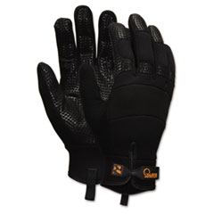 Memphis Multi-Task Synthetic Gloves, Large, Black, Pair