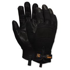 Memphis Multi-Task Synthetic Palm Gloves, Medium, Black, Pair
