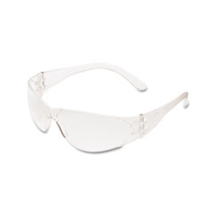 Crews Checklite Scratch-Resistant Safety Glasses, Clear Lens