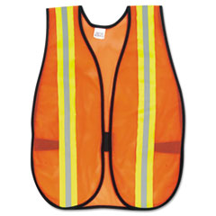 MCR Safety Orange Safety Vest, 2