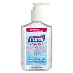 Advanced Instant Hand Sanitizer, 8oz Pump Bottle
