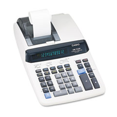 DR-T220 One-Color Thermal Printing Calculator, 12-Digit Digitron, Black