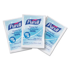 GOJ 90261M PURELL Cottony Soft Individually Wrapped Sanitizing Hand Wipes GOJ90261M
