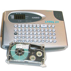 Casio KL60SR Compact EZ-Label Maker, 2 Lines