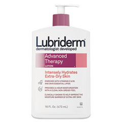 PFI 48322EA Lubriderm® Advanced Therapy Moisturizing Hand and Body Lotion PFI48322EA