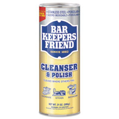 Bar Keepers Friend® CLEANER POLISH 21OZ Powdered Cleanser, 21 Oz Can