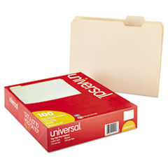 UNV 12115 Universal® Top Tab Manila File Folders UNV12115