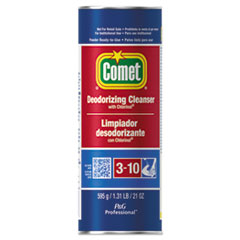 Comet® CLEANER COMET POWDER 21OZ Cleanser With Chlorinol, Powder, 21 Oz Canister
