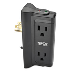Tripp Lite SURGE 4 OUTLET DIRECT BK PROTECT IT! SURGE PROTECTOR, 4 SIDE-MOUNTED OUTLETS, DIRECT PLUG-IN, 720 JOULES
