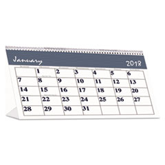 HOD 3679 House of Doolittle™ Bar Harbor 100% Recycled Desk Tent Monthly Calendar HOD3679