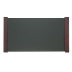 CVR 02043 Carver Desk Pad with Wood End Panels CVR02043