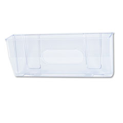deflecto Oversized Magnetic Wall File Pocket, Legal/Letter, Clear