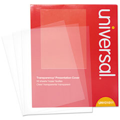 UNV 21011 Universal Transparent Sheets UNV21011