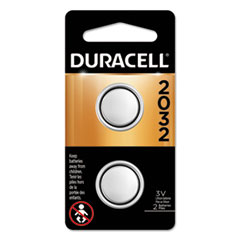 Duracell® BATTERY BTN CELL LIHM 2PK LITHIUM COIN BATTERY, 2032, 2-PACK