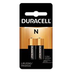 Duracell® BATTERY ALKIN N 1.5V 2PK SPECIALTY ALKALINE BATTERY, N, 1.5V, 2-PACK