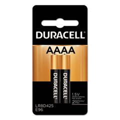 Duracell® BATTERY ULTRA AAAA 2-PK SPECIALTY ALKALINE AAAA BATTERIES, 1.5V, 2-PACK