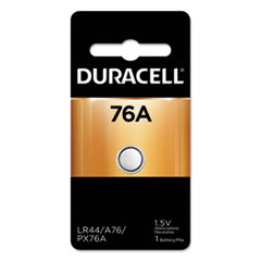 Duracell® BATTERY 76A ULTRA PHTO SPECIALTY ALKALINE BATTERY, 76-675, 1.5V