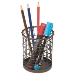 UNV 20063 Universal Vintage Wire Mesh Pencil Cup UNV20063