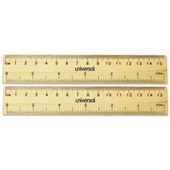 UNV 59024 Universal Flat Wood Ruler UNV59024