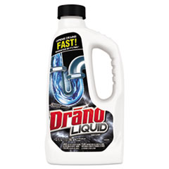 Drano® CLEANER DRANO CLOG REMOVR Liquid Drain Cleaner, 32oz Safety Cap Bottle