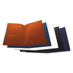 UNV 20545 Universal Two-Pocket Plastic Folders UNV20545