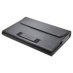 "Kensington® PORTFOLIO LS510 Ls510 Portfolio For 11.6"" Chromebooks, 11.5"" X 1.5"" X 9.25"", Faux Leather, Black"