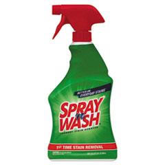 SPRAY 'n WASH® DETERGENT STAIN REMVR CLR Stain Remover, Liquid, 22 Oz, Trigger Spray Bottle