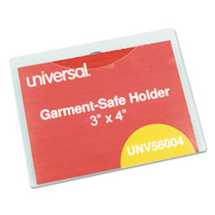 UNV 56004 Universal Clear Badge Holders With Inserts UNV56004
