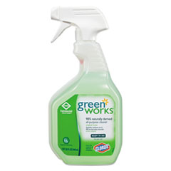 Green Works® CLEANER ALL PURPOSE 32OZ All-Purpose And Multi-Surface Cleaner, Original, 32oz Smart Tube Spray Bottle