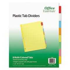 Office Essentials™-INDEX,BNDR,LTR,8ST,AST