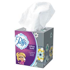 Puffs® TISSUE PUFFS FACIAL WH ULTRA SOFT FACIAL TISSUE, 2-PLY, WHITE, 56 SHEETS-BOX