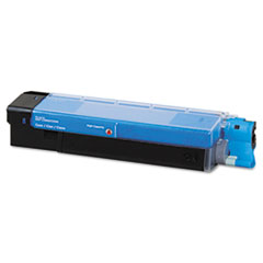 DPC5800C Compatible Remanufactured High-Yield Toner, 5000 Page-Yield, Cyan