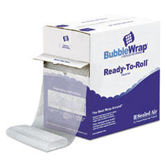 """Sealed Air PACKING BUBBLE 12""""X175' Bubble Wrap Cushioning Material In Dispenser Box, 3-16"""" Thick, 12"""" X 175 Ft."""