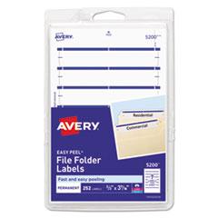 Avery®-LABEL,FILE,FLDR,252PK,DBE