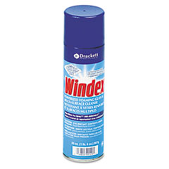 Windex Powerized Formula Glass & Surface Cleaner, 20oz Aerosol, 12/Carton