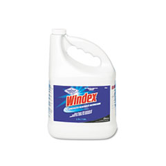 Windex Powerized Formula Glass & Surface Cleaner, 1 gal. Bottle, 4/Carton
