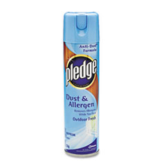 Pledge Dust and Allergen, Outdoor Fresh, 9.7 oz CFC-Free Aerosol
