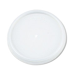 Dart Plastic Lids, for 12oz Hot/Cold Foam Cups, Vented, 1000/Carton