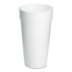 Dart Drink Foam Cups, 20 oz., 500/Carton