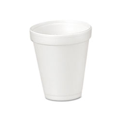 Drink Foam Cups, 4 oz., 40 Bags of 25/Carton