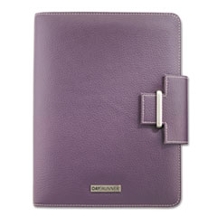 Day Runner Terramo Refillable Planner, 5 1/2 x 8 1/2, Eggplant