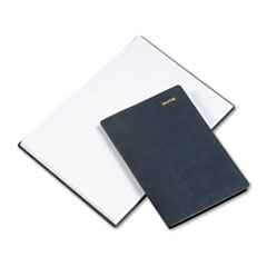 Day-Timer Leatherlike Journal, Black Polyurethane Cover, 160 Pages, 5 1/2 x 7 3/4