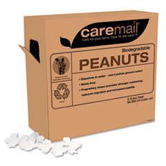 CareMail Biodegradable Peanuts, 3 Cubic Feet